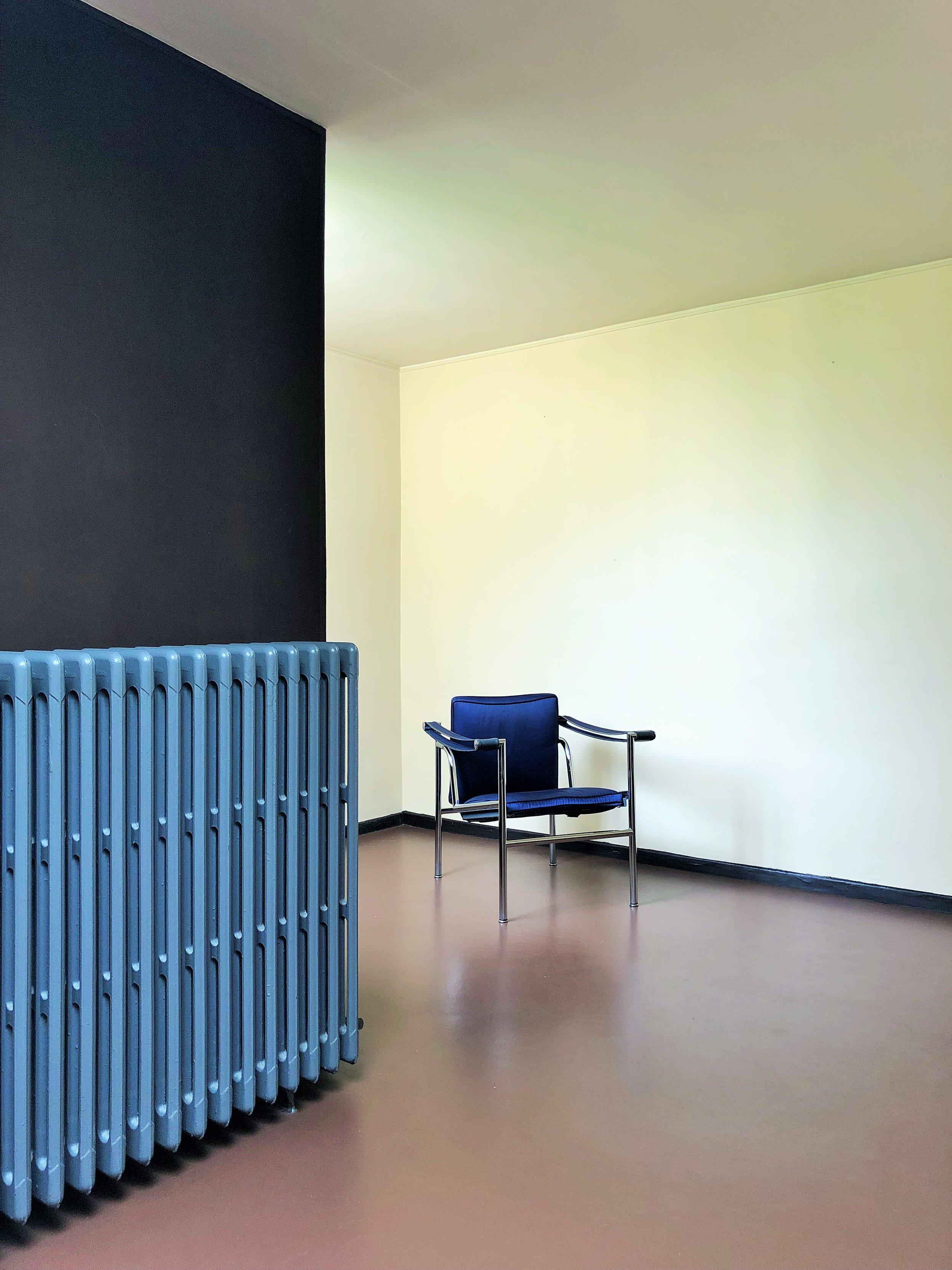 The library, Maison La Roche, by Le Corbusier Photograph ©The London List