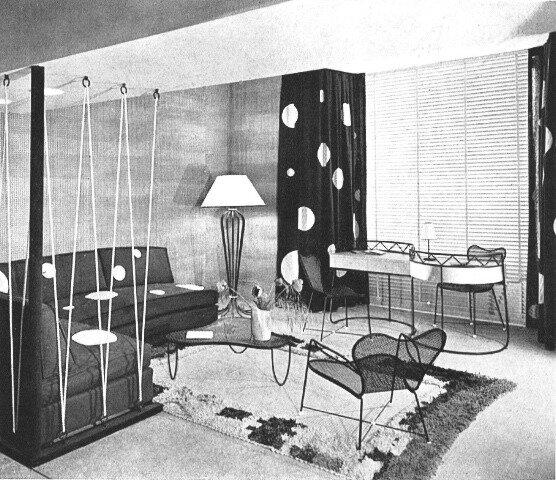 Interior, Paris (c. 1952) by Jean Royère