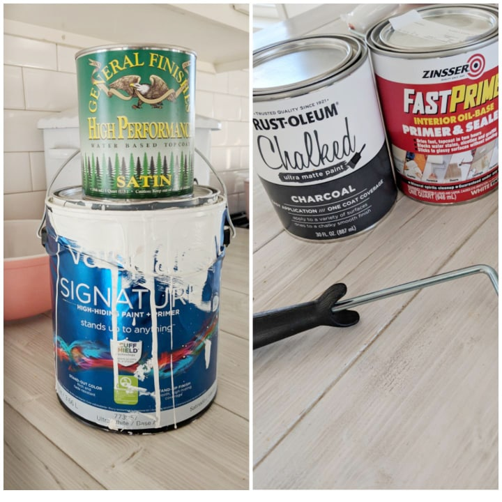 The products used for my floors.