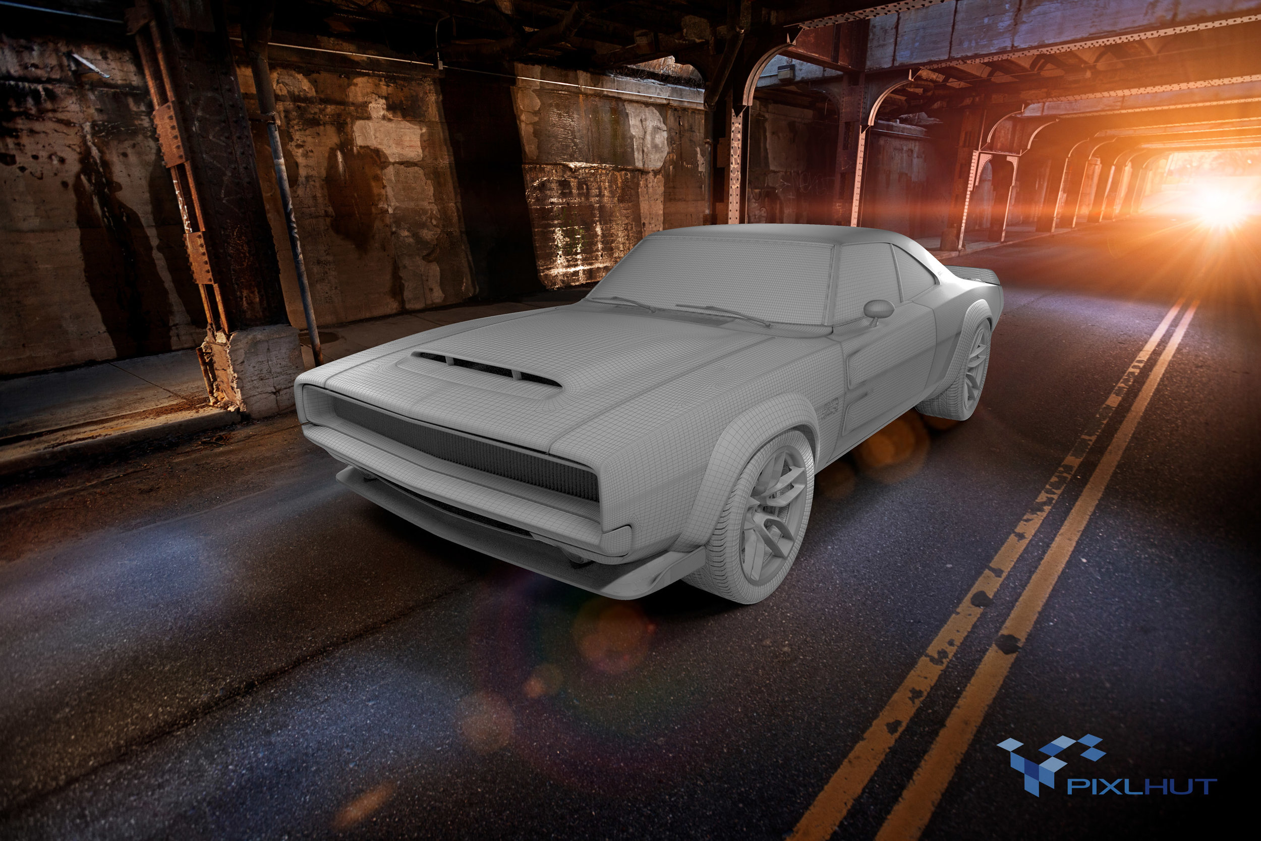 Hellephant Supercharged Hemi Charger