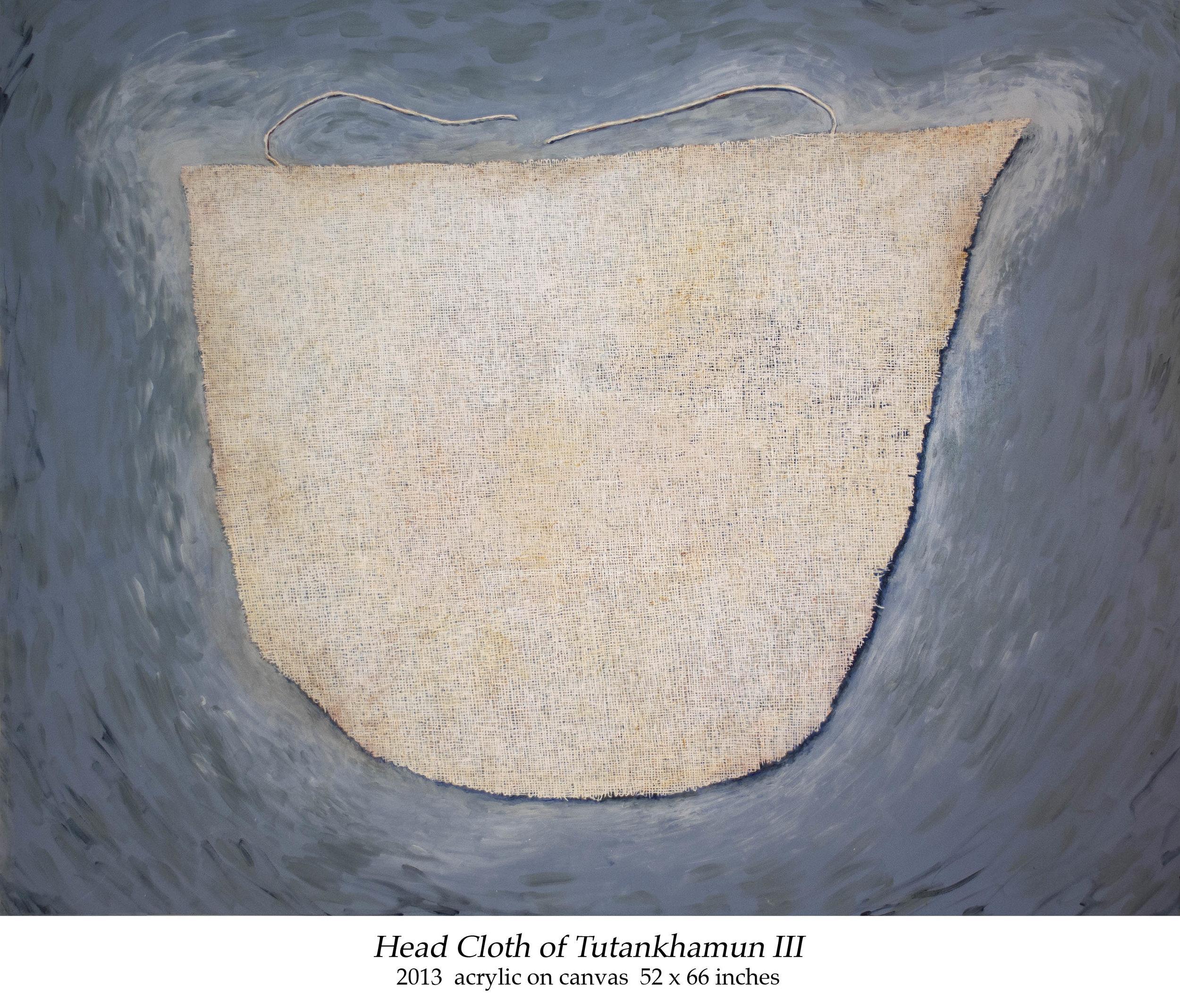 Head Cloth of Tutankhamun III 2013 acrylic on canvas 52 x 66 inches.jpg