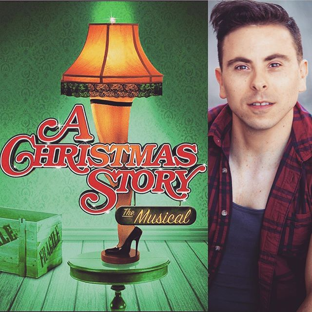 UP NEXT - Christmas is around the corner! I'll be heading back to the Fireside Theatre next week to play with old and new friends in A Christmas Story - The Musical!  I'll see you NYC on Christmas Eve! ❄️🎄🎅🏻#Christmas #christmasshow #musicaltheatre #achristmasstory #musical #stage #actorlife #dancer #singer #performance #wisconsin #firesidetheatre #almost #broadway #show #loveit #instafun #instapic #instafit #instachristmas #october #news #upnext #yay #instahey