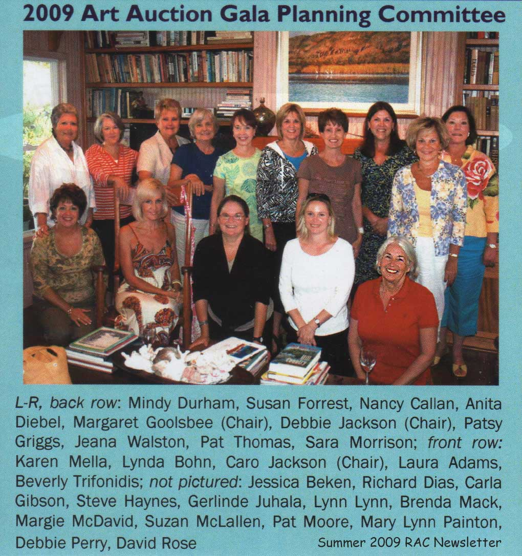 2009 Art Auction Planing Committee.jpg