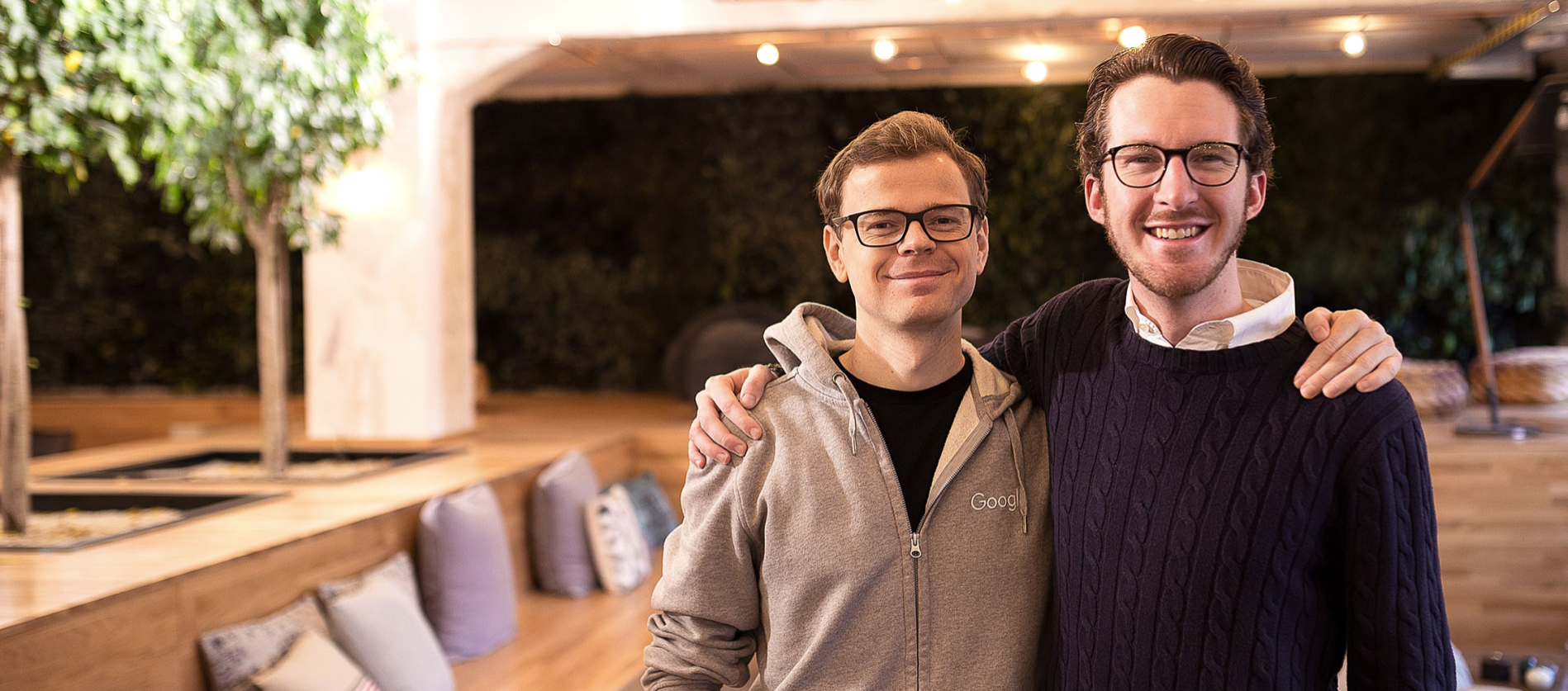Xapix co-founders Oliver Thamm (left) and Christian Umbach (right)