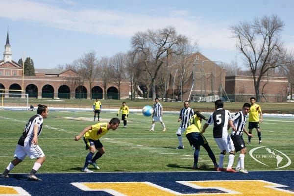 El torneo relámpago de este domingo 7 de abril será en la cancha de grama artificial de la Universidad de Buena Vista programado a jugarse entre las 10 de la mañana y las 5 la tarde.