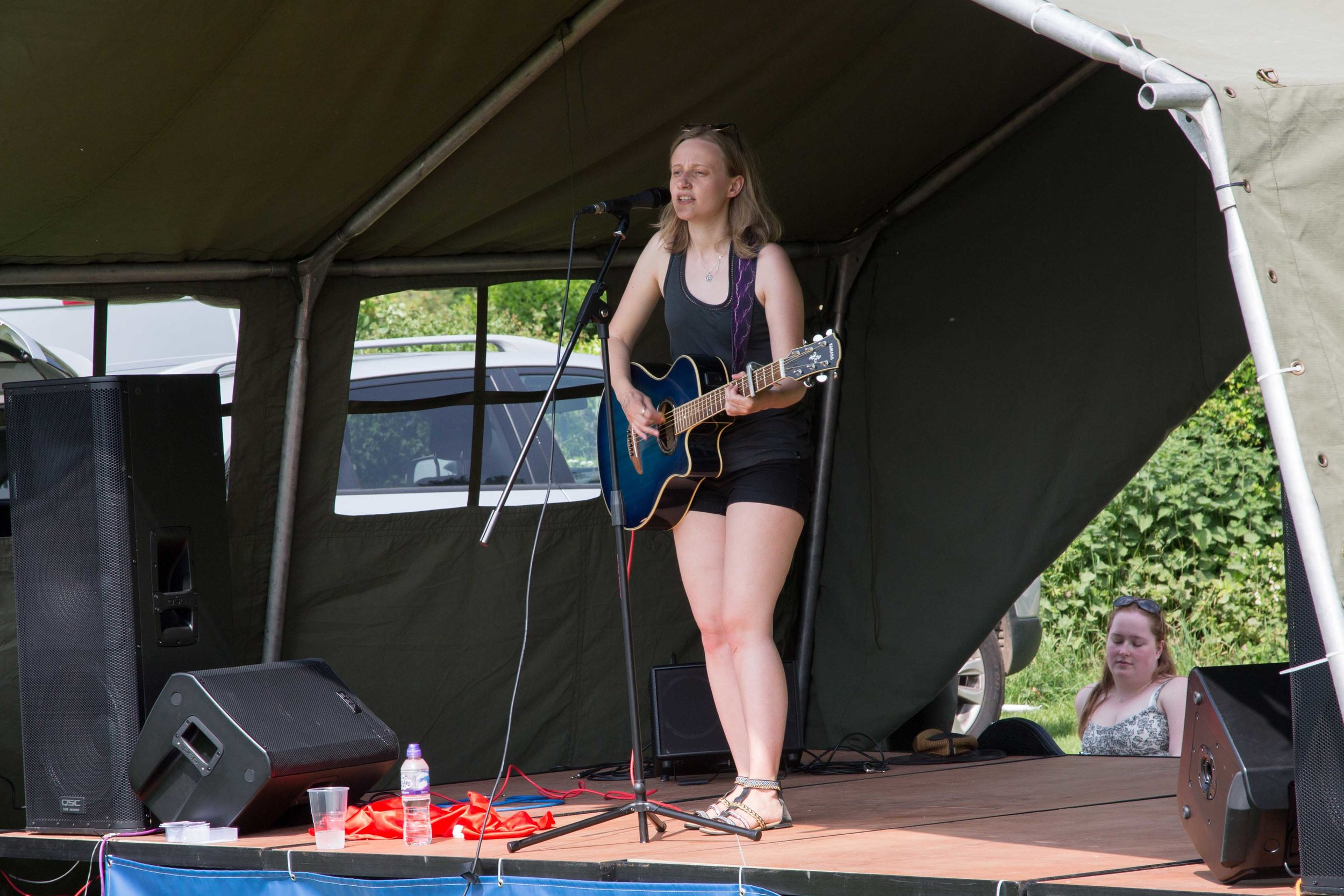 Singing on the outdoor stage.JPG