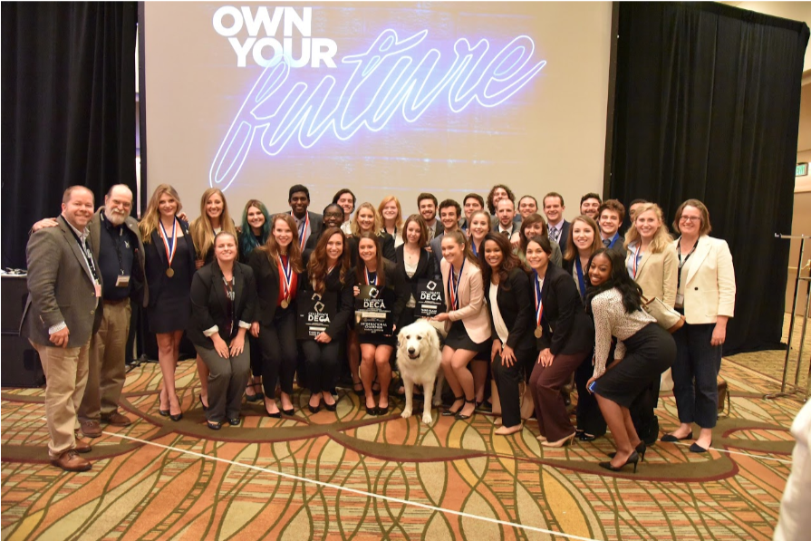 Belmont DECA Wins at ICDC - Our Belmont DECA team competed at the International Career Development Conference. Their accomplishments include winning the Entrepreneurship Challenge and 9 other teams placing in the top 10 in their categories.