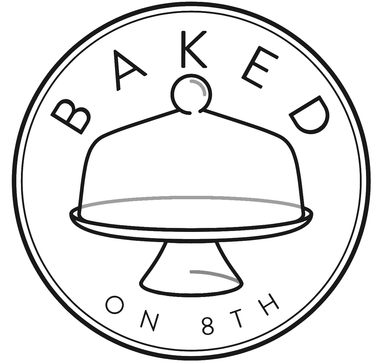 Baked on 8th - Have a special occasion or searching for a sweet treat? Baked on 8th was founded in 2018 by Leah Carmean and specializes in classic and trendy single-serve desserts as well as custom cakes and cookies.