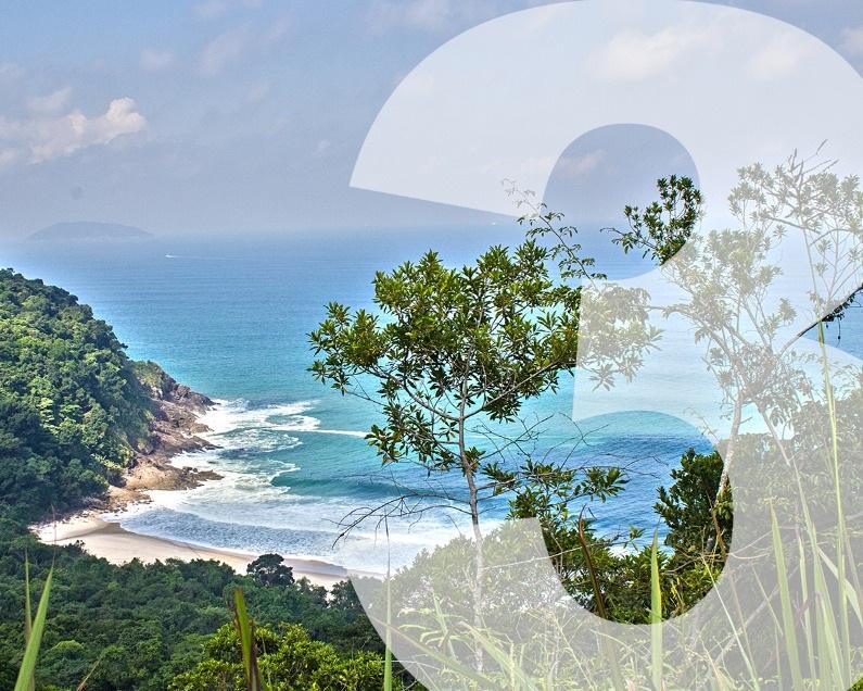 Trekking Praia Brava - Pacote incluindo hospedagem de duas diárias para o casal+ Trekking da Praia Brava+ Café da manha, Almoço e Jantar com as bebidasNível de dificuldade: MédioDuração: 3 a 4 horas (3 km)Valor de R$1.290, para o casal