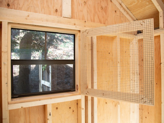 Predator Safe - All of our coops are very well built and nearly impossible for any predator to penetrate. Additionally, our windows, doors and runs have additional screens made of the highest quality hardware wire which keeps critters out and chickens safe.