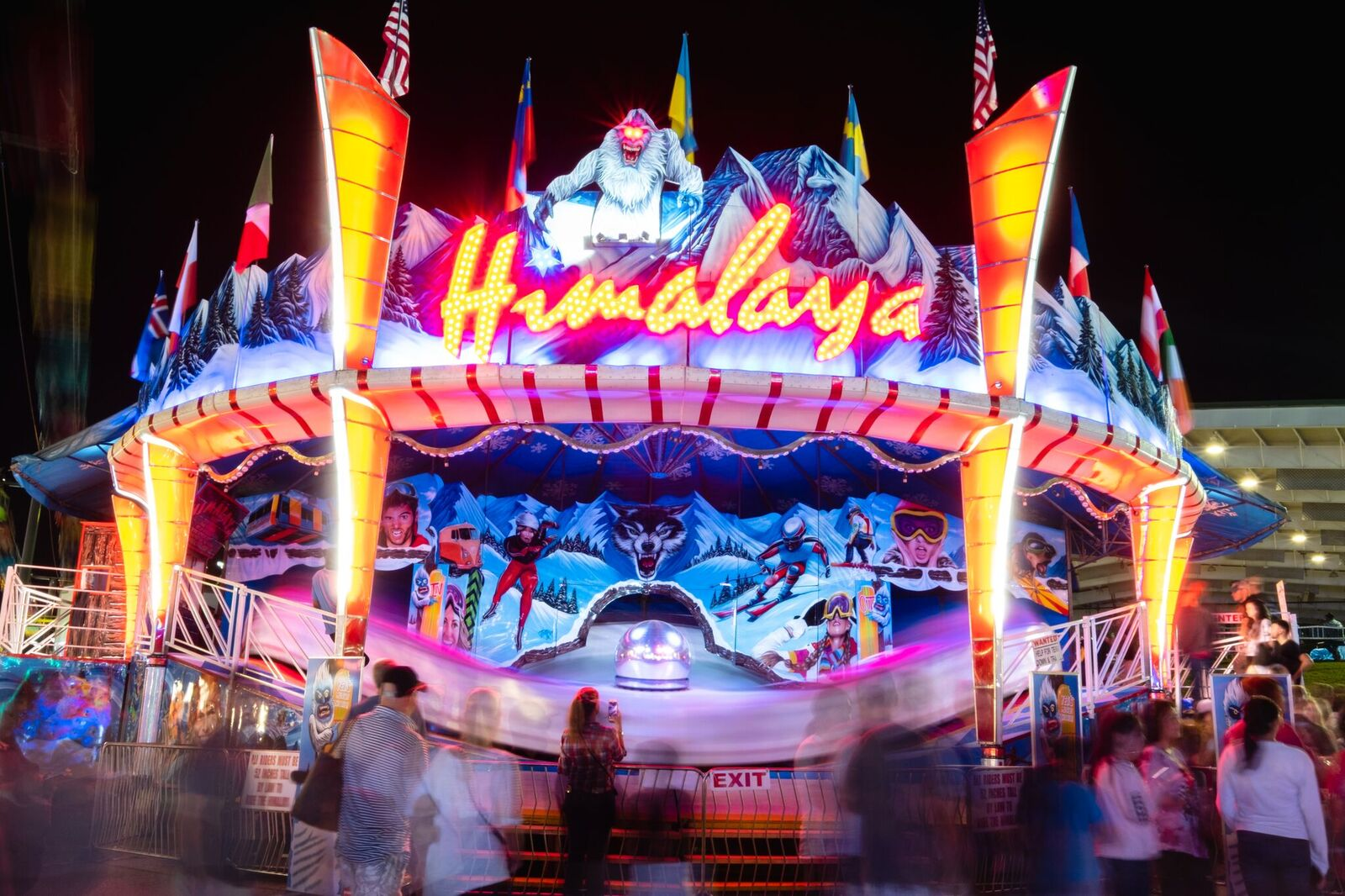 Monday, October 7Student Night - Pay One Price: $20 Unlimited Rides (per person)
