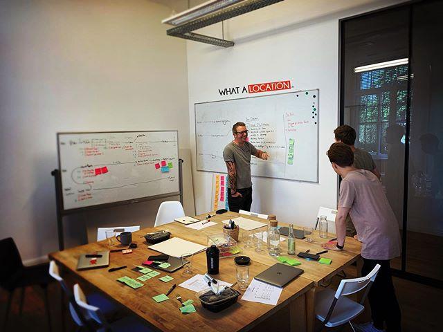 Ein aufschlussreicher erster Tag mit dem großartigen #team von @weareminglabs geht zu Ende. #pause 💪🏻 #proptech #commercialrealestate #locationintelligence