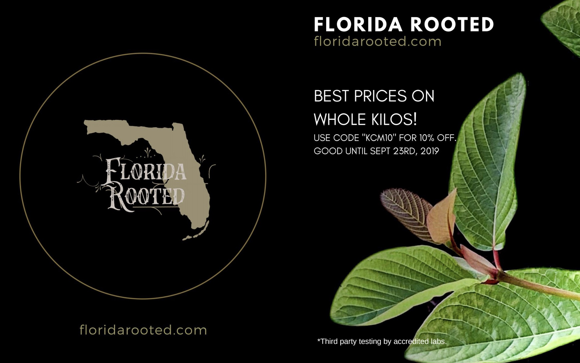 Client: Florida Rooted for Kratom Culture Magazine