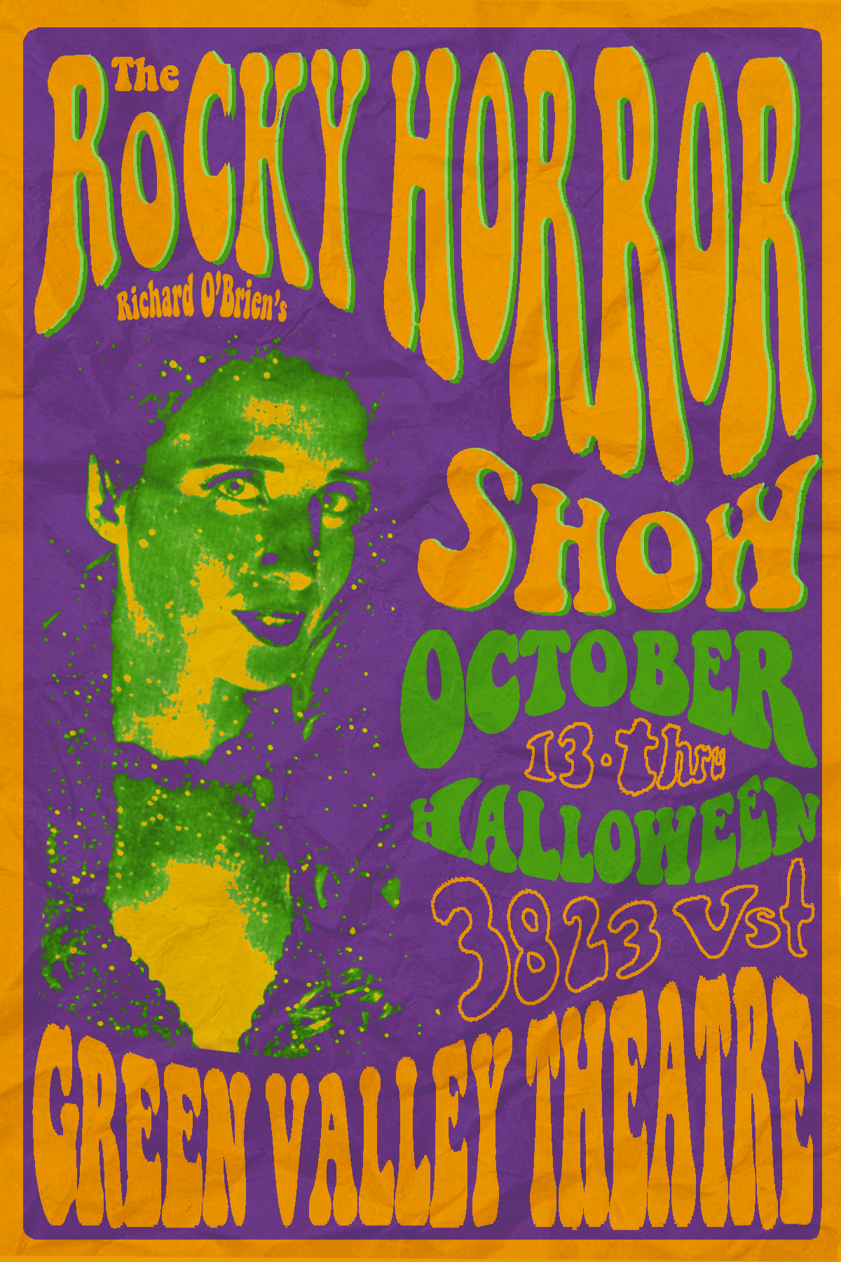 The Rocky Horror Show - Psychedelic! - October 13th-31stExplore