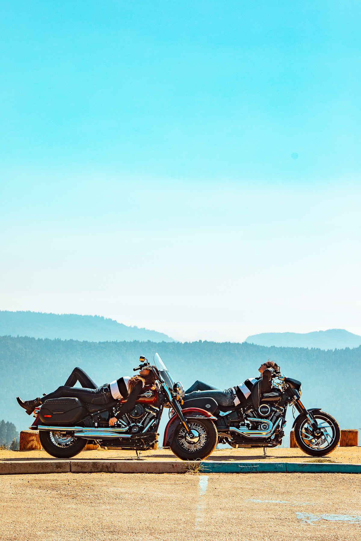 Familiar roads with fresh bikes and a new outlook. - My interest in motorcycles started in the Chrome days in San Francisco. My approach to capturing content on the fly and Outpost's growing client list allowed me to work with Harley-Davidson® to create content that demonstrated the value of passion for the things you can't get from behind a desk or in front of a screen.While my point of view has grown and broadened, my direction has remained constant – look inward to discover your interest and look outward for like-minded individuals to make things happen.