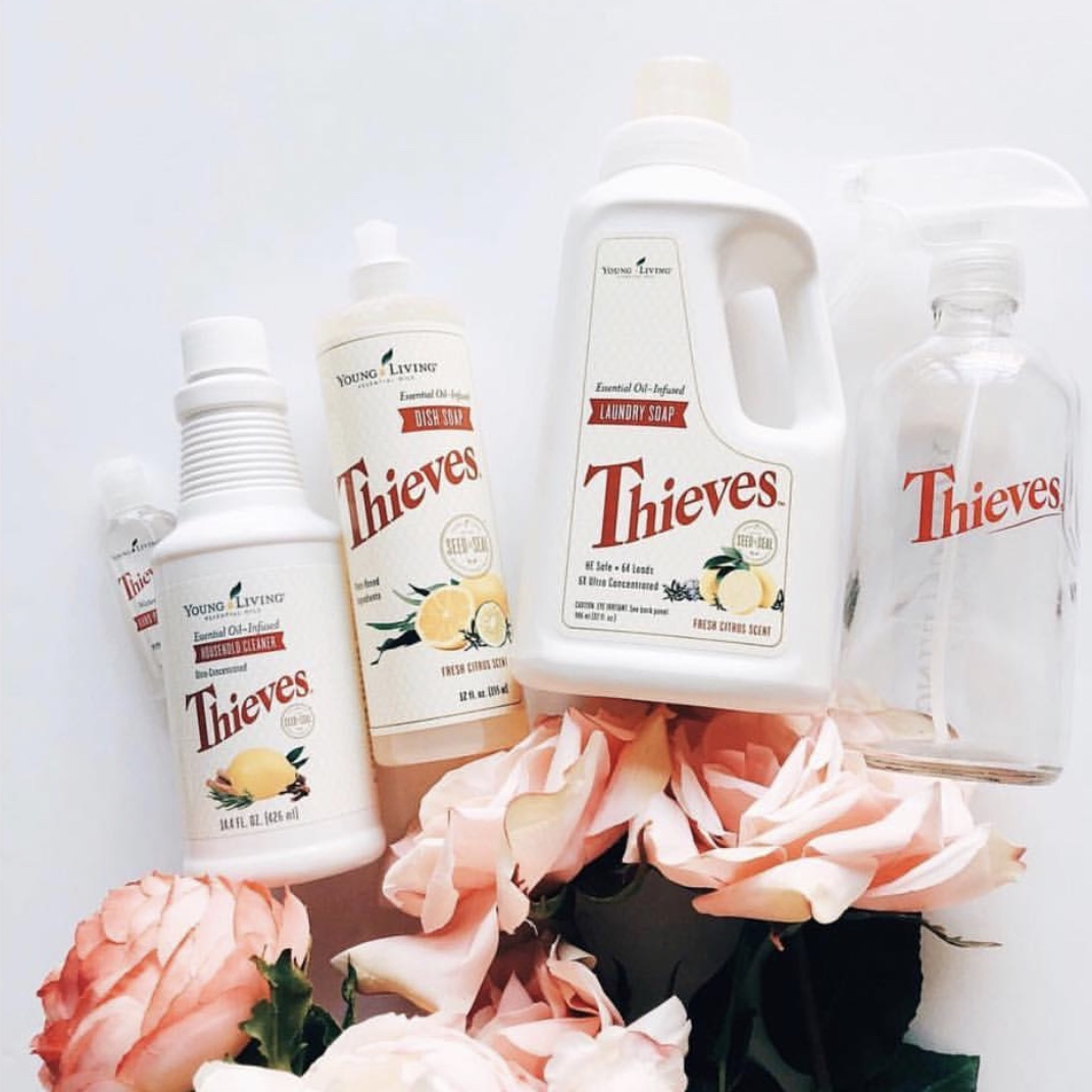 So fresh, so clean - Thieves Household Cleaners