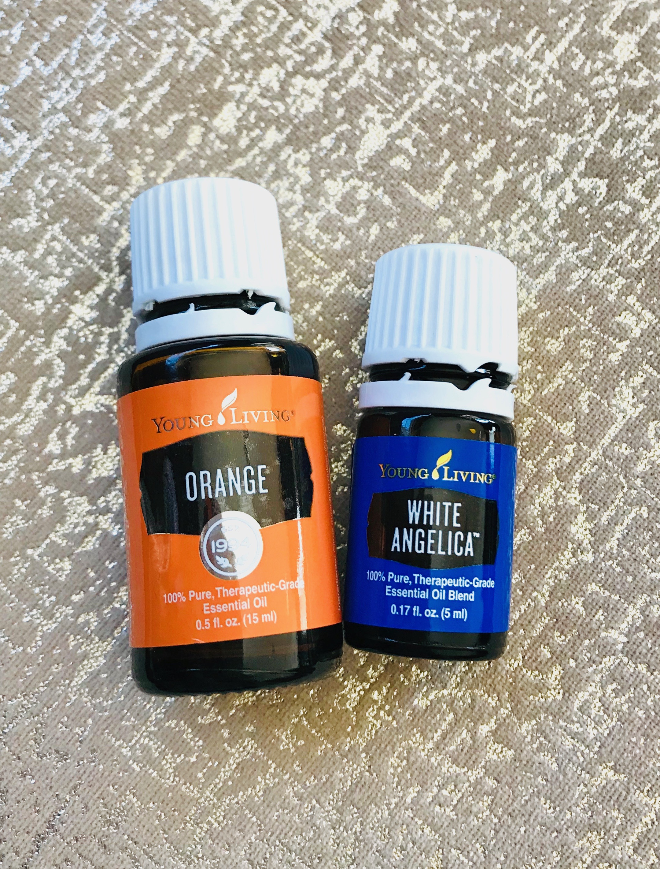 Oil Highlight White Angelica Barreista Be Well
