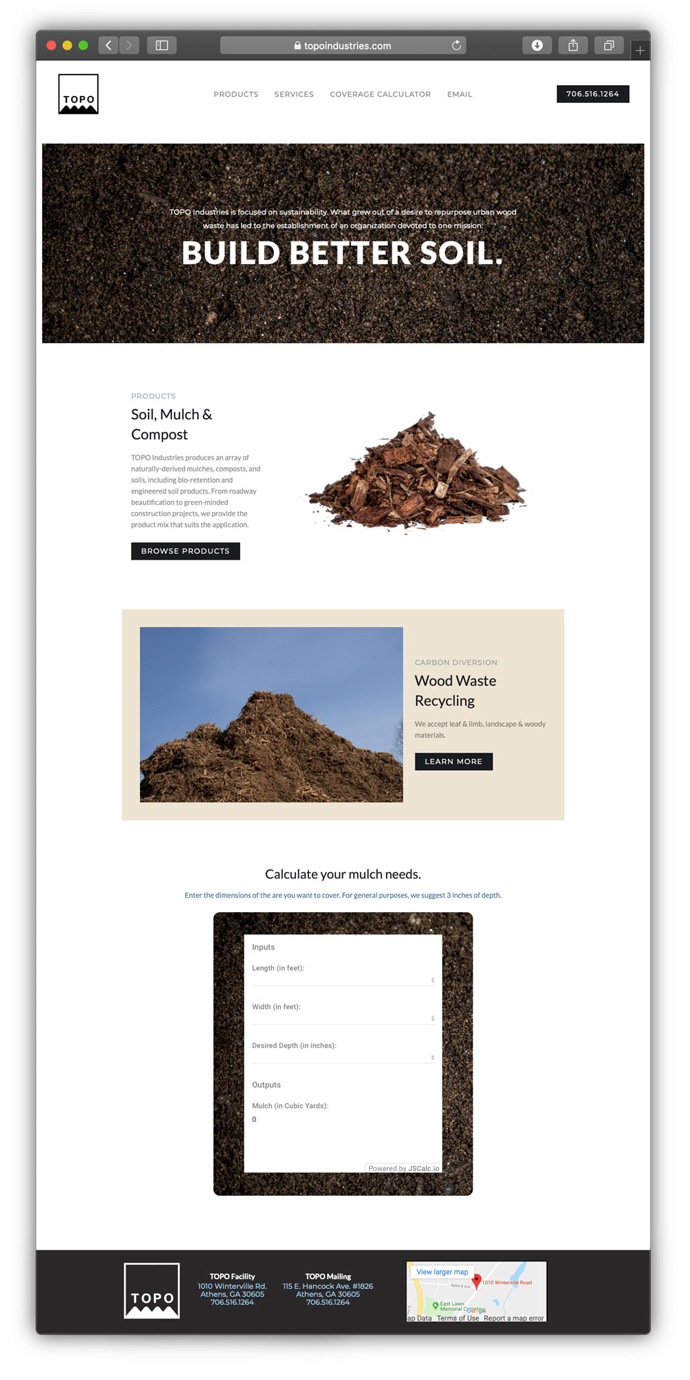 interactive site design - creation from the ground up
