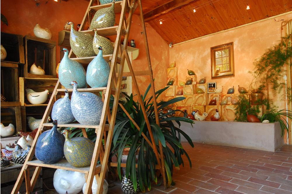 Lussan Ceramique On ladder.jpg