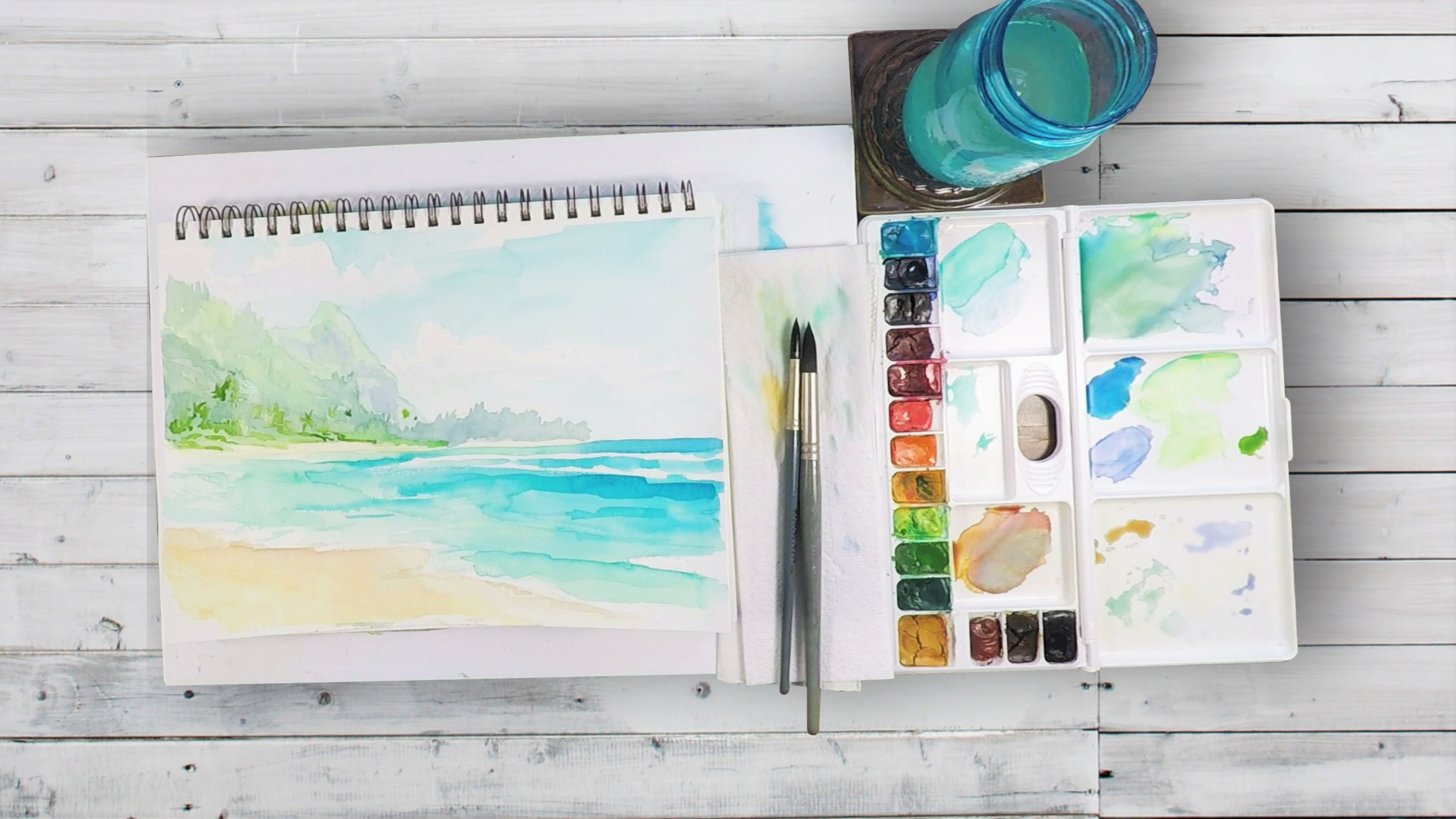 MONTHLY PROJECT KIT $45 - UNLIMITED ACCESS & SUPPLIES TO PAINT ALONG