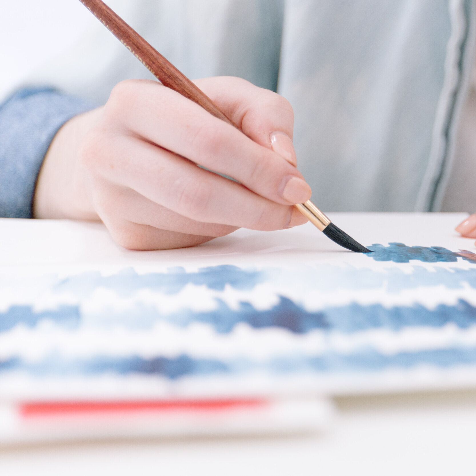 2. LEARN - Weekly video tutorials are released along with a photo reference, outline drawing, and step by step instructions to guide you in recreating the project while expressing your own style!