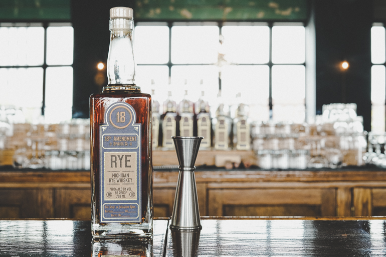 rye whiskey - 48% Alc. by Vol. / 80 Proof / 750ml.