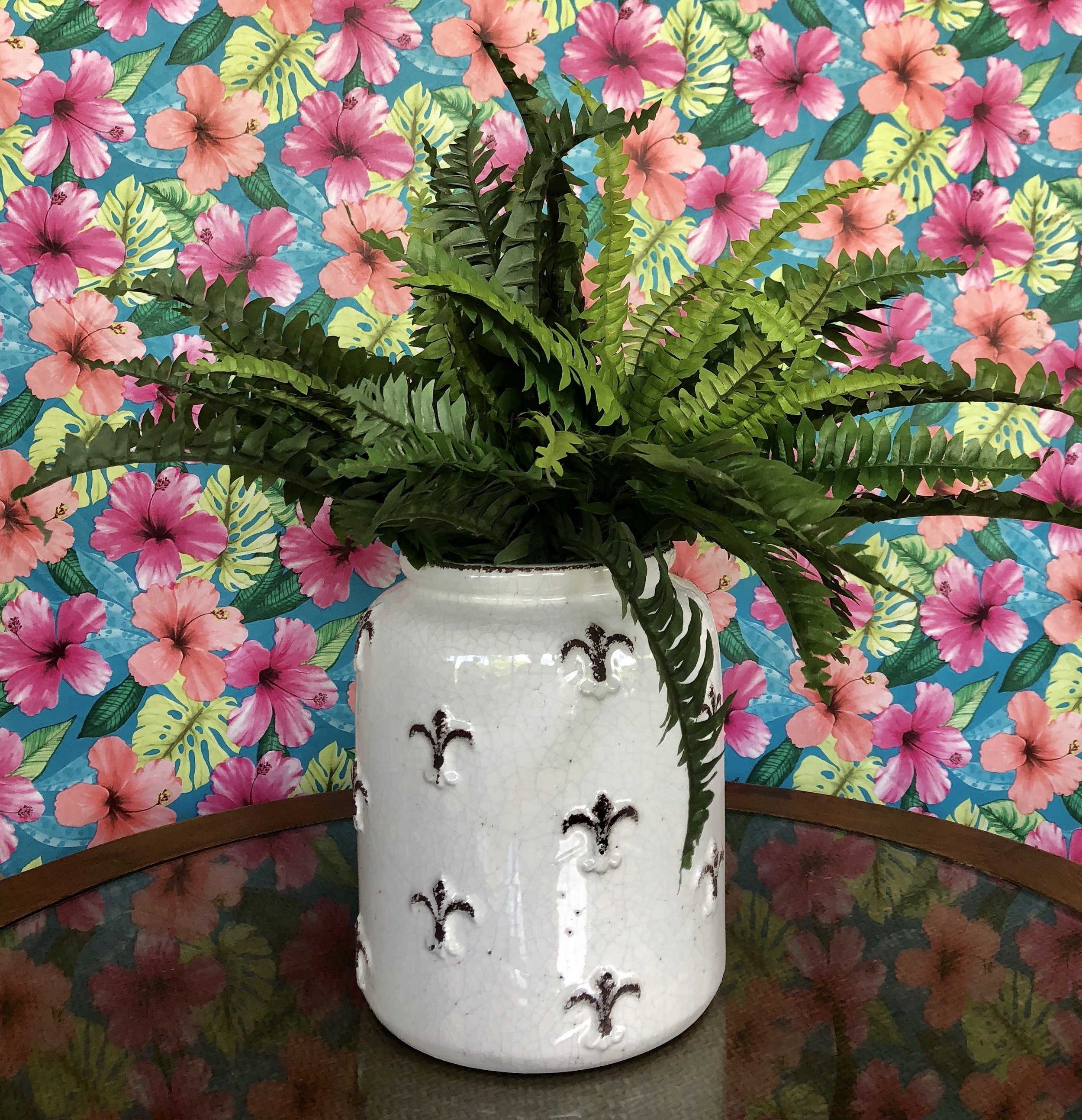 Faux ferns from Three French Hens $20.99