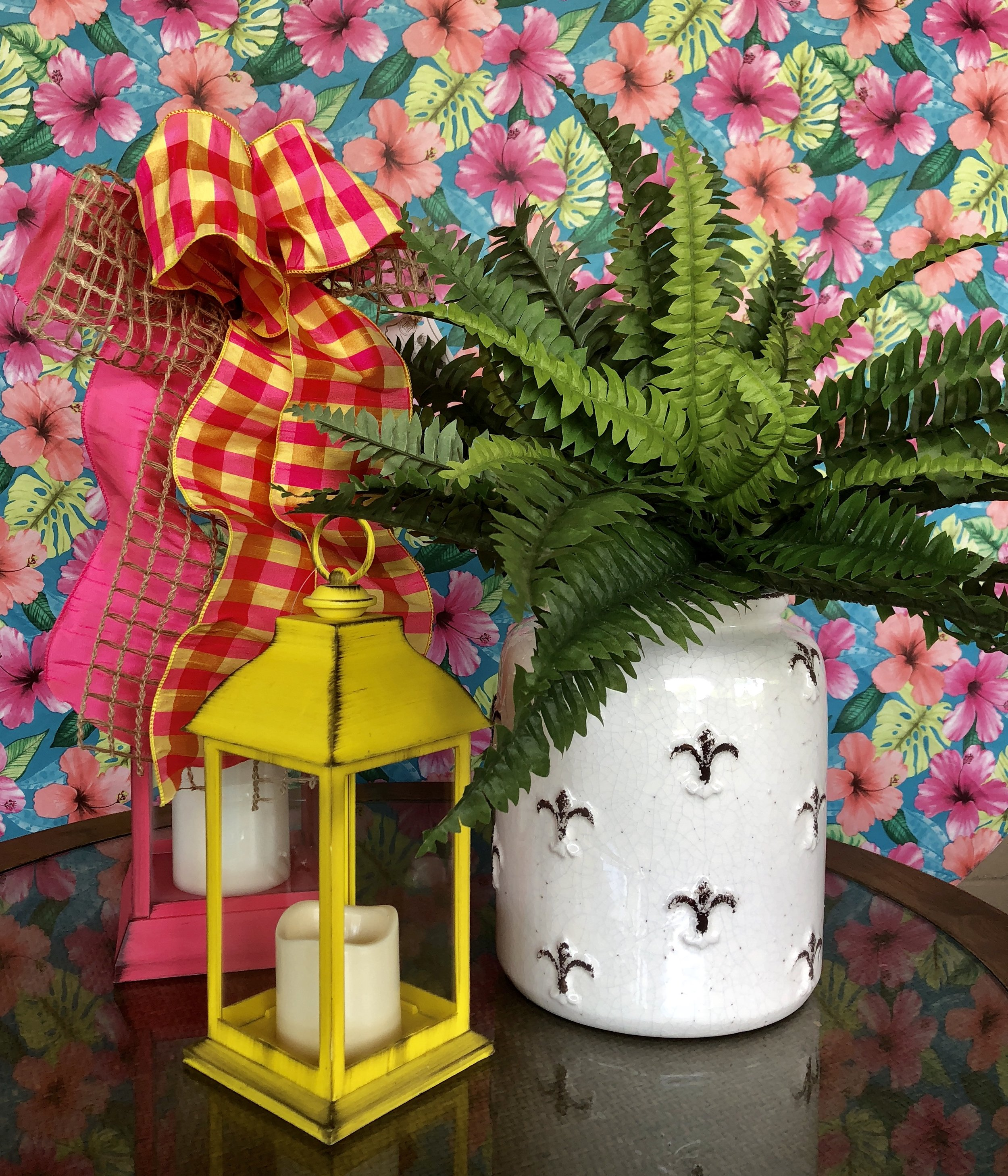 Large Lantern $39.99 Medium Lantern $20.99 from Three French Hens
