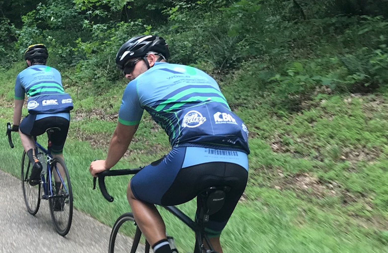 SPONSOR - Each year we're humbled by the outpouring of support from local businesses, friends of friends and especially our families. If you aren't already supporting an individual rider, consider becoming a team sponsor. Your gift will raise us up and help us to go farther.
