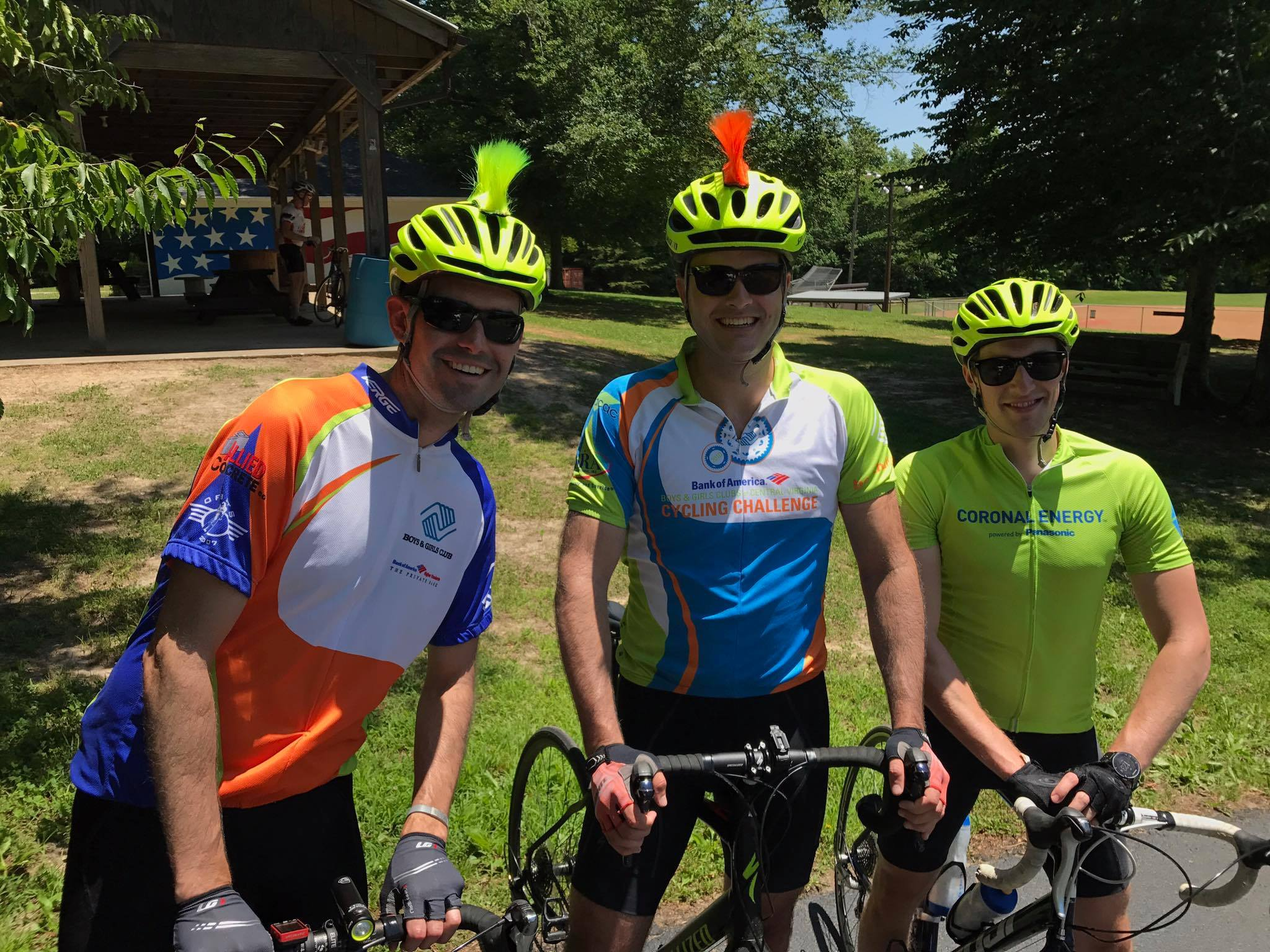 2017: Glorious weather and mohawk bike helmets were hallmarks of our third JoA.
