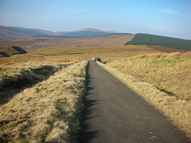 The Scenic Sperrins Route