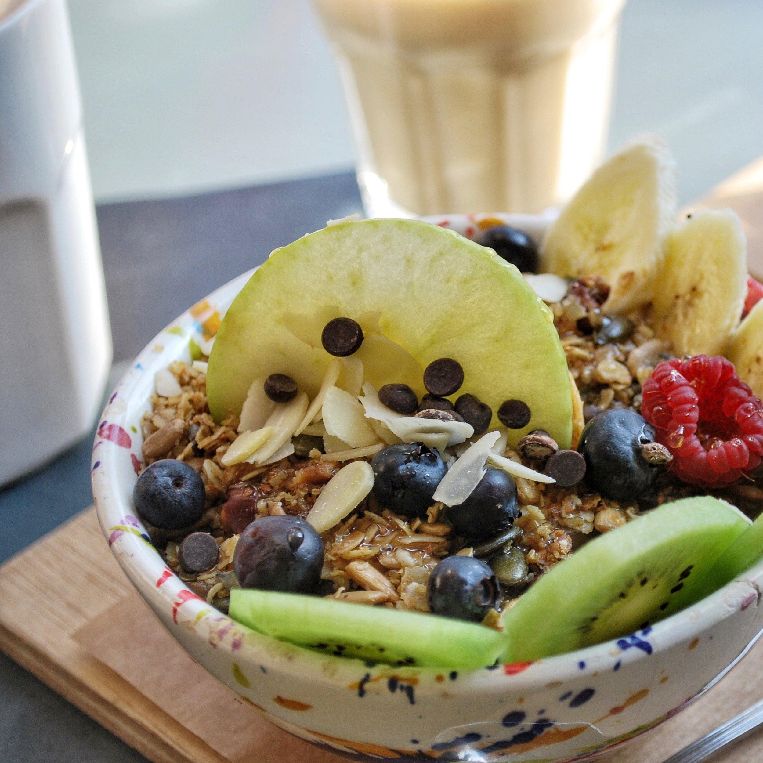 Vegan Soyjoghurt with Granola