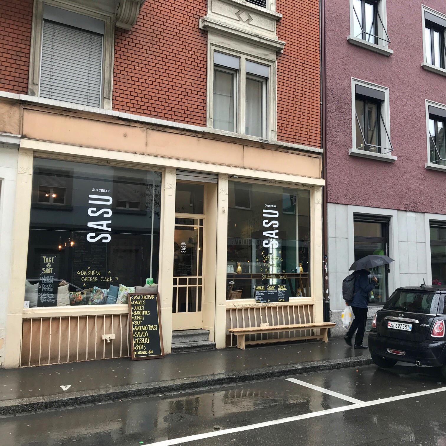 Sasu Juicebar Zurich