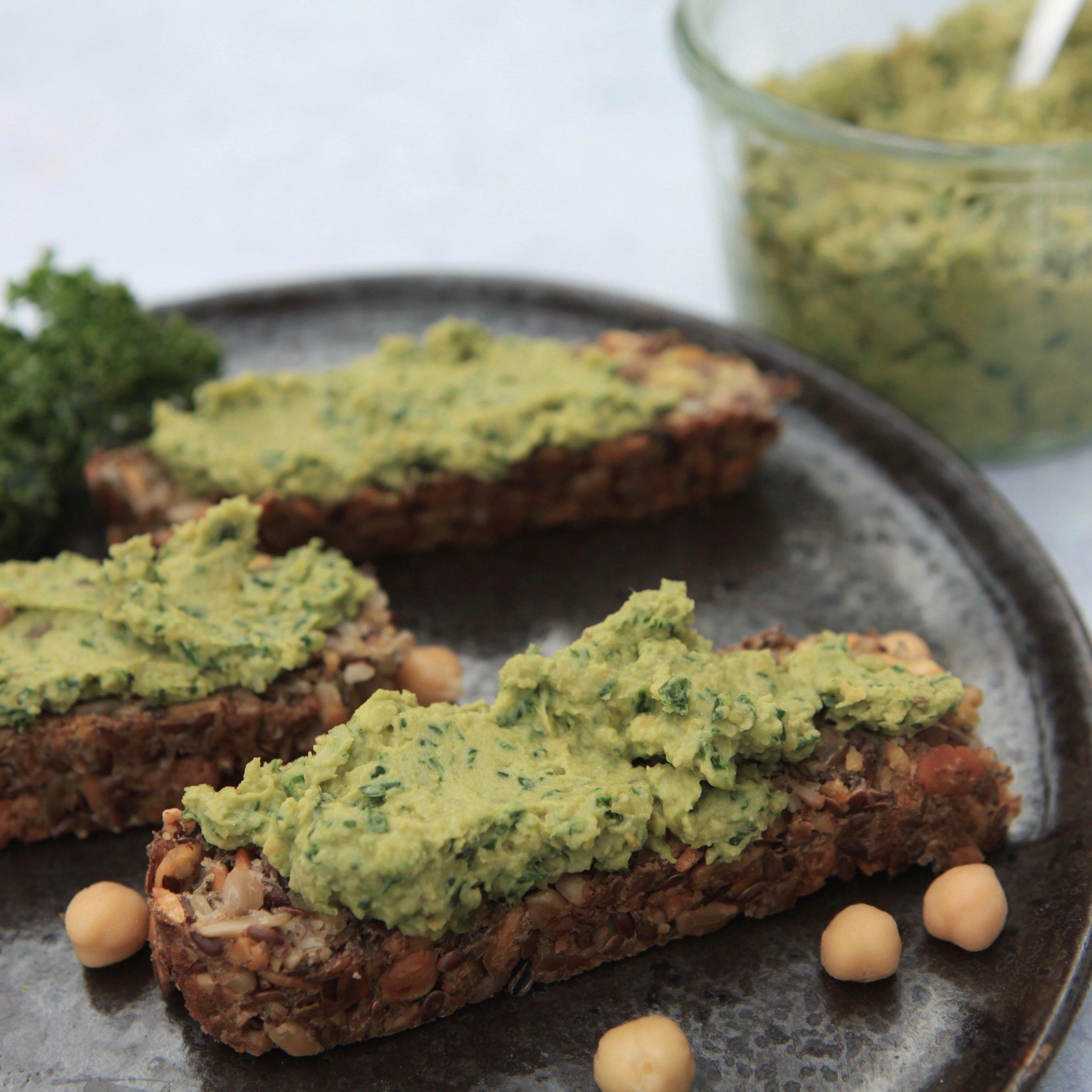 Vegan Kale Hummus