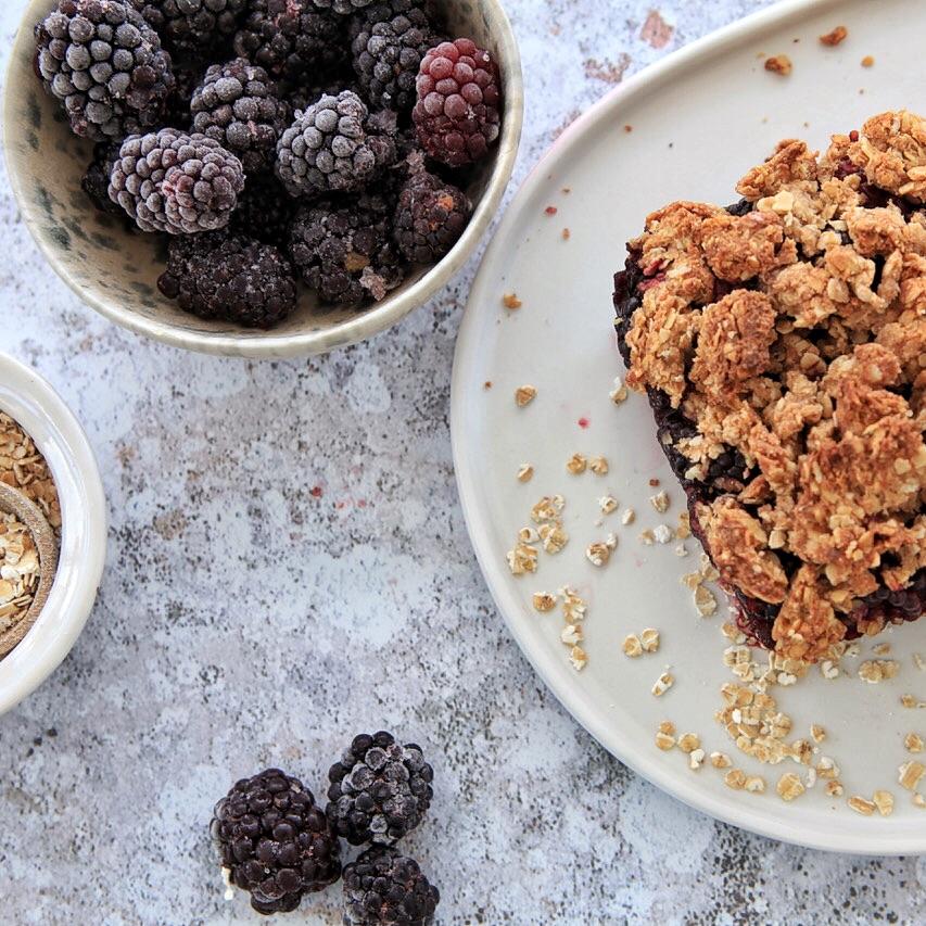 Lecker, saftig und gesund. - Der Brombeer-Streuselkuchen ist der perfekte Dessert.