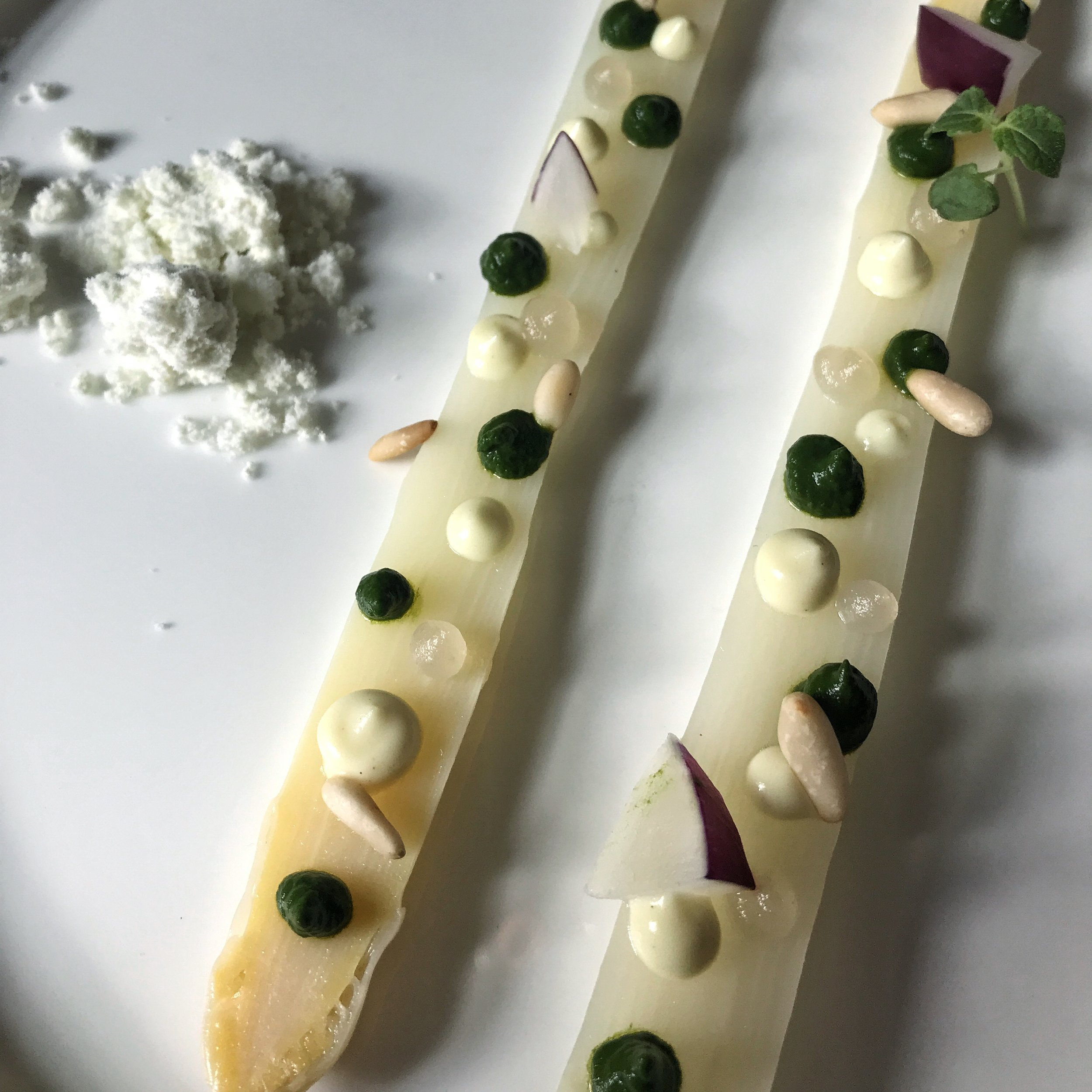 veganes 4- Gänge Tastingmenü Marktküche