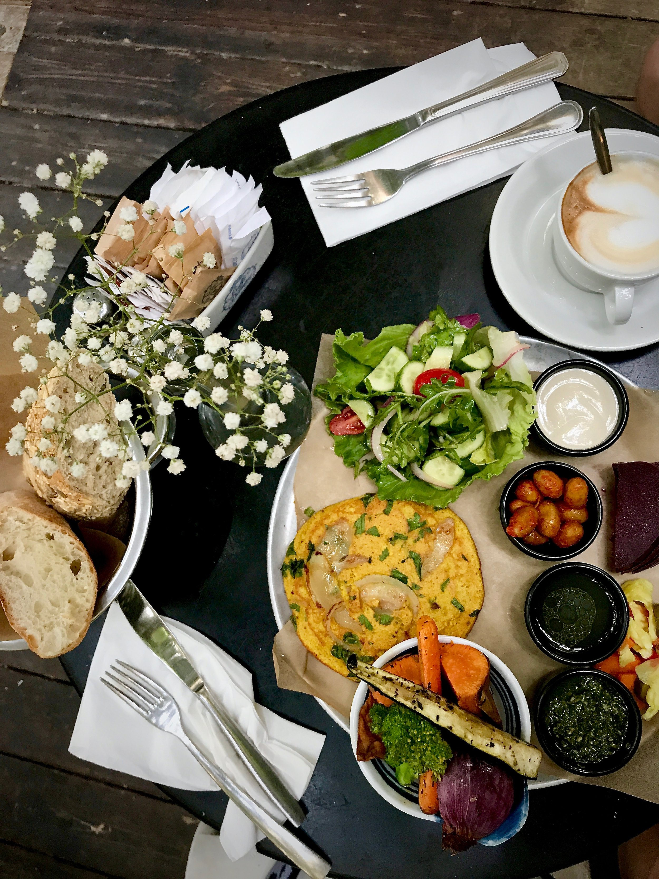Vegan Breakfast @Jonesy Gardener
