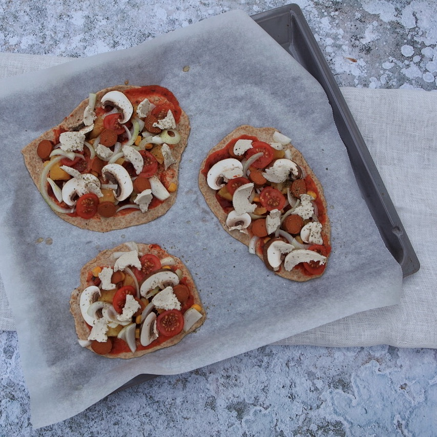 Pizzalovers aufgepasst… - Mit UrDinkel und Sauerteig.