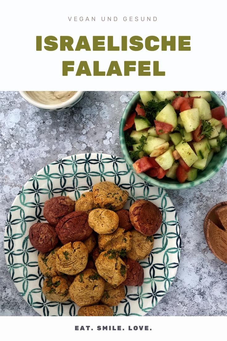 Vegane und gesunde Israelische Falafel