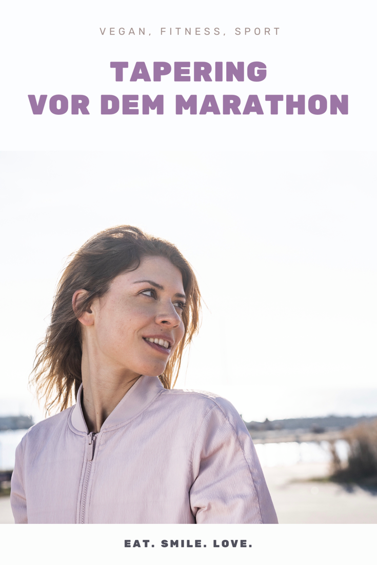 Vegan, Fitness und Sport. So geht Tapering vor dem Marathon.
