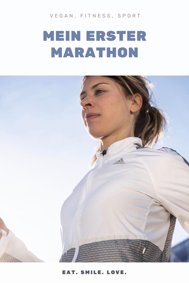 Vegan, Fitness und Sport. Mein erster Marathon. Alexandra Niggeler.