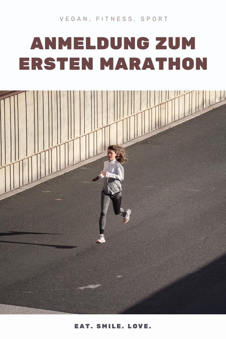 Anmeldung zum ersten Marathon, Marathontraining