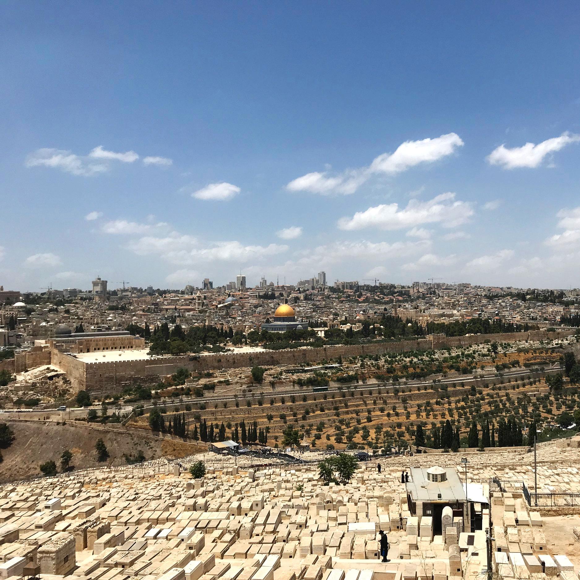 Ölberg in Jerusalem