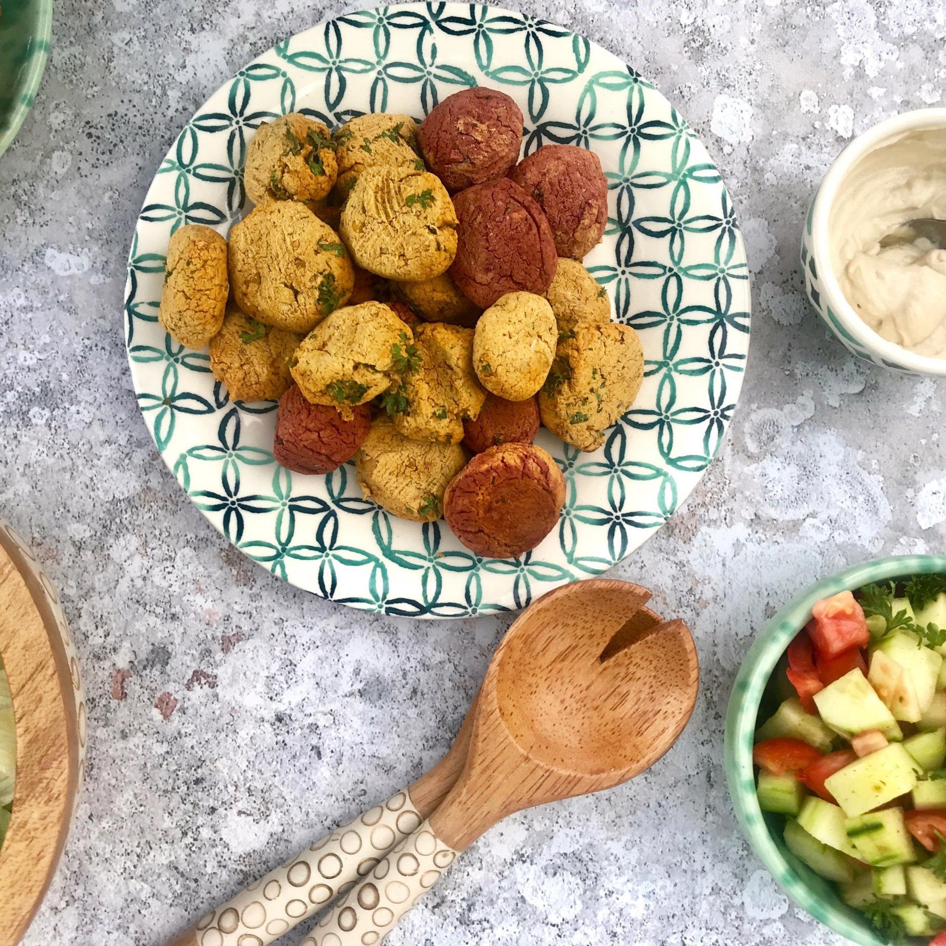Vegane israelische Falafel