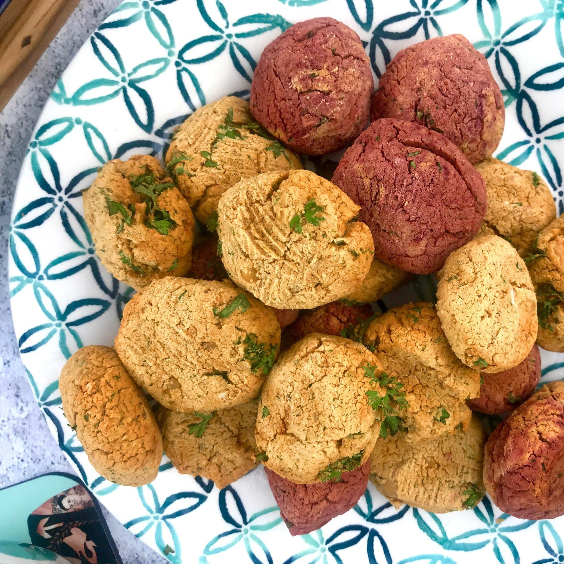 Gesunde und leckere Falafel