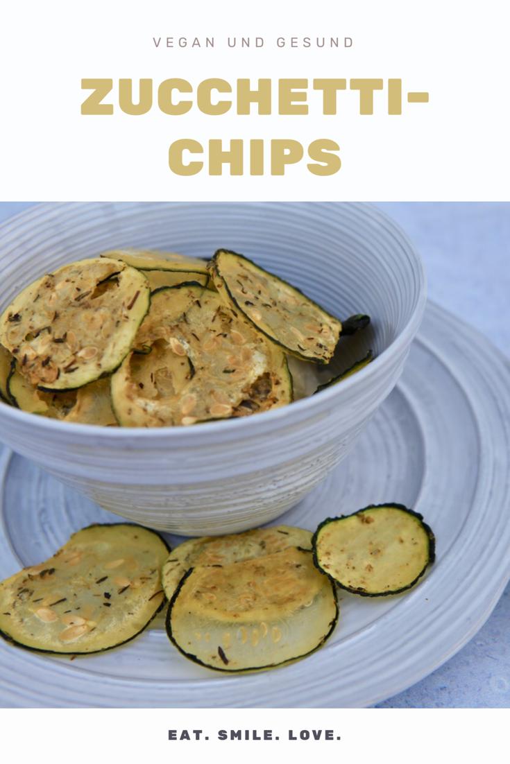 Rezept für den perfekten Snack - Zucchetti Chips!