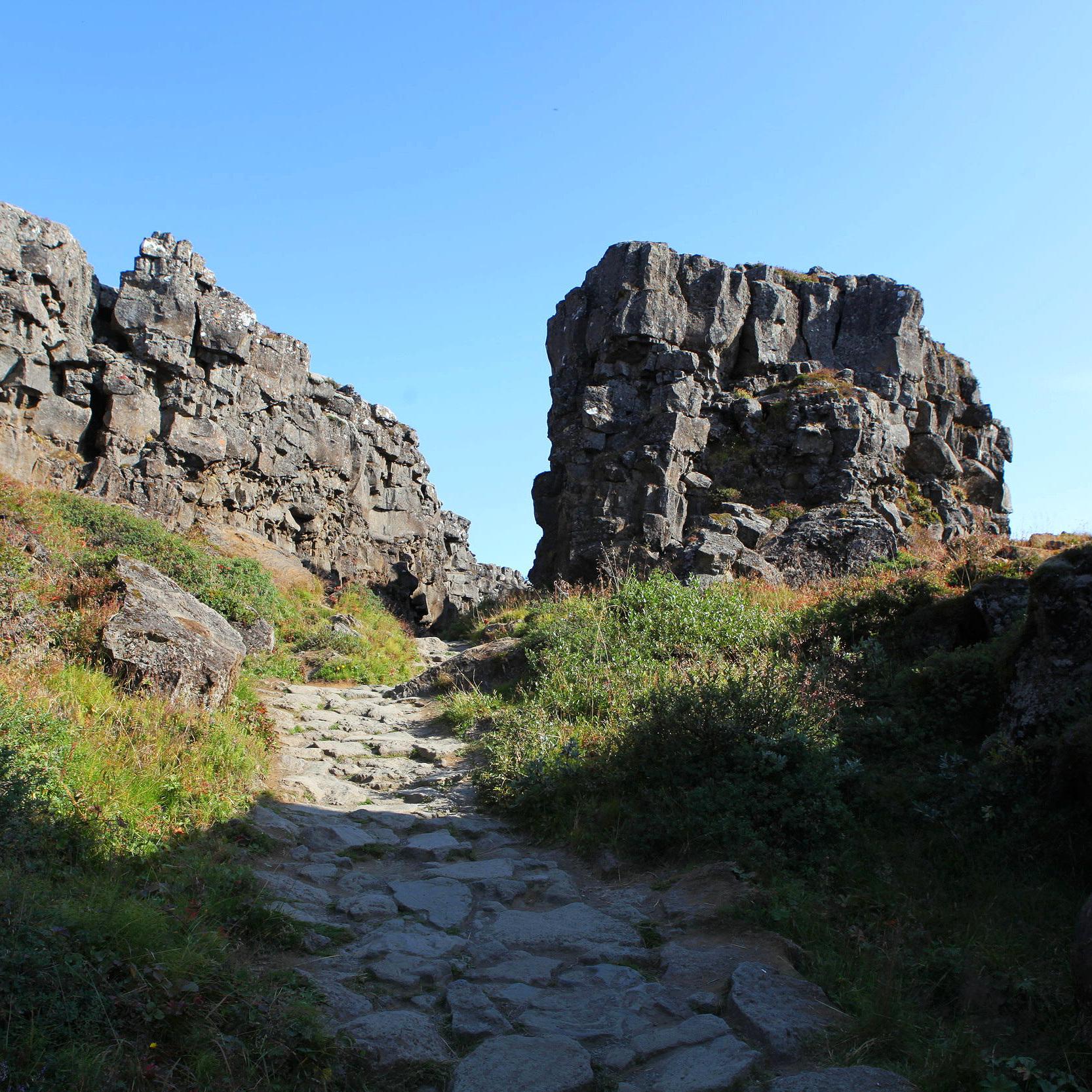 Hiking in Thingvellir