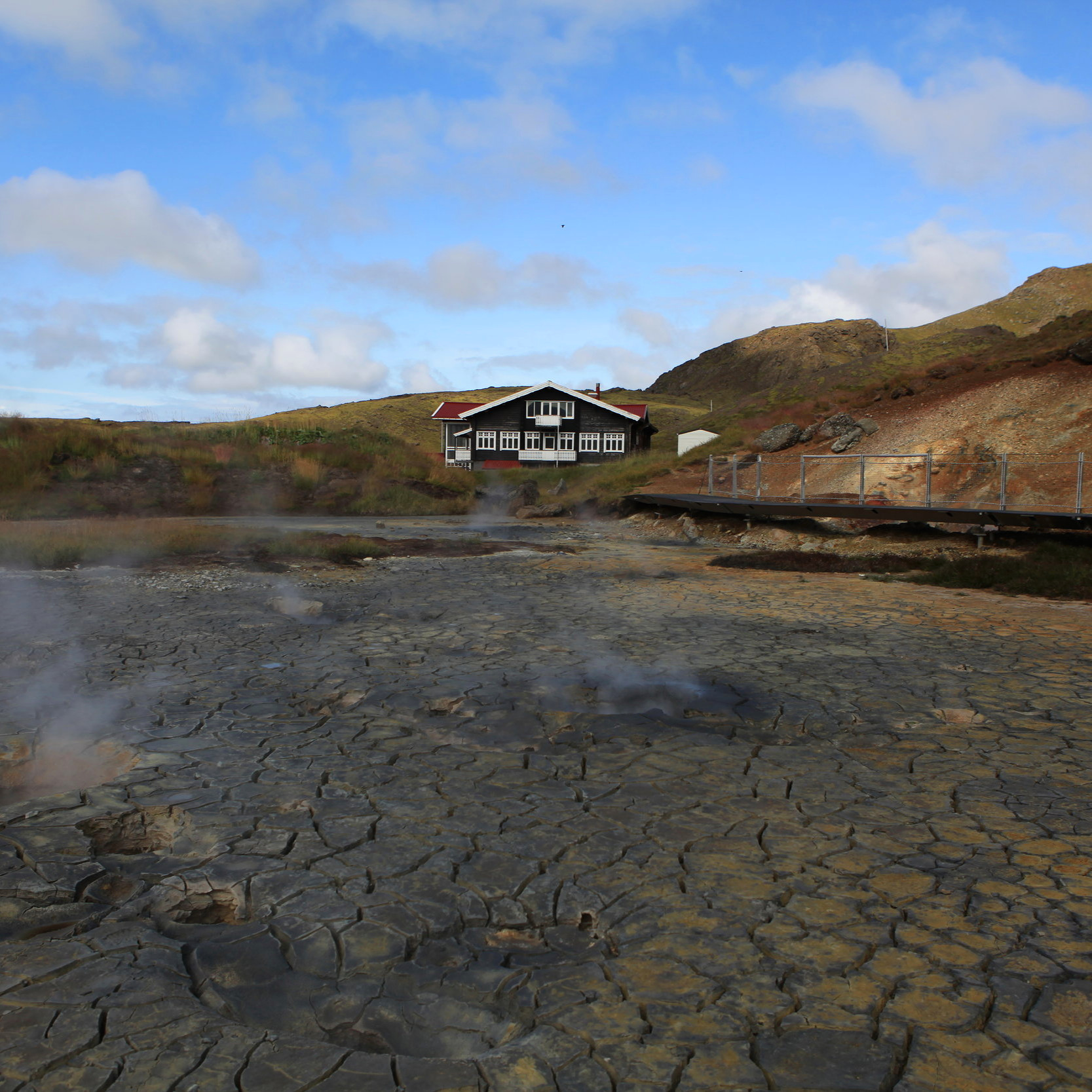 Haus in Island nähe Seltún Geothermal Area