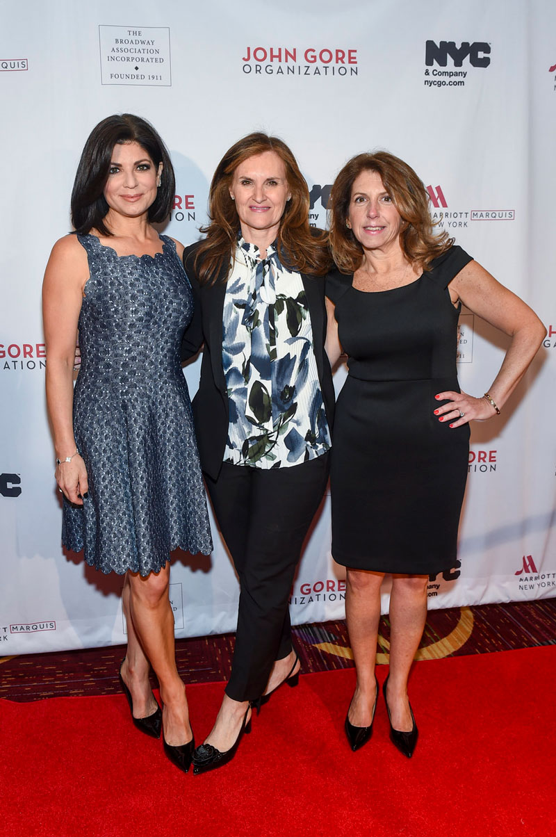 Tamsen Fadal - Master of Ceremonies at the Broadway Association 2019 Annual Luncheon