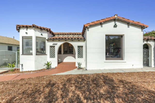 Featured on CurbedLA - Bright Spanish Style House in Glassell Park